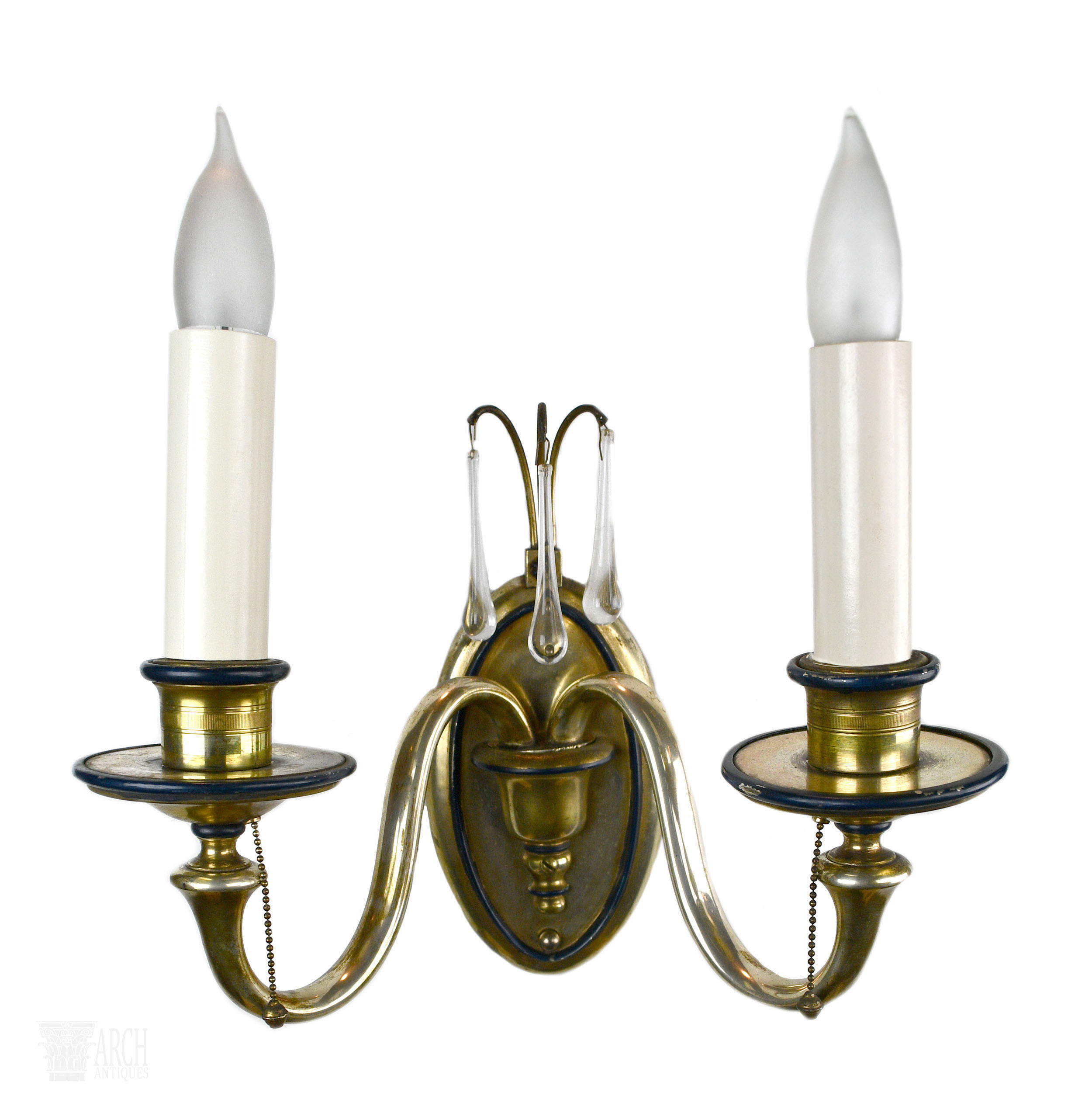 48450-silver sconce with crystal-4.jpg