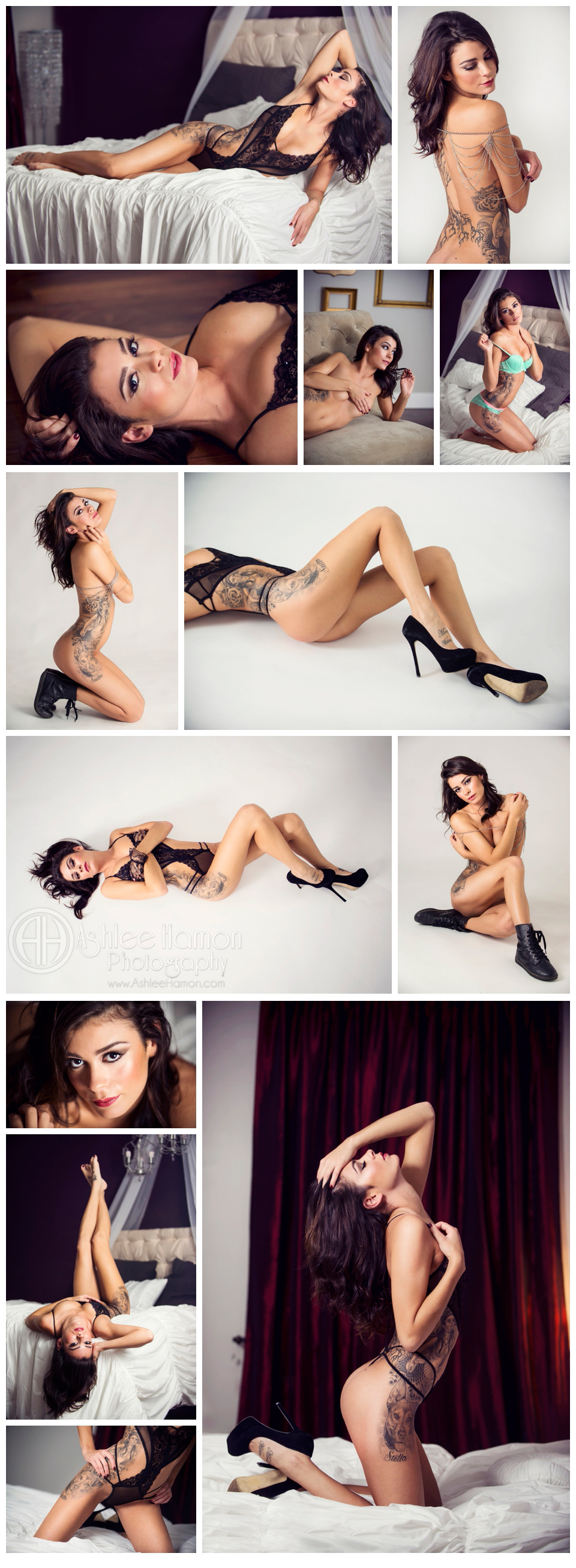 Tattooed Model Photography