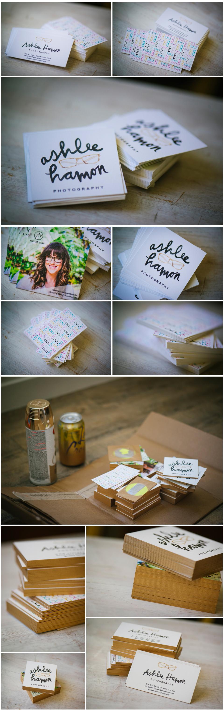 Ashlee Hamon Photography Business Cards