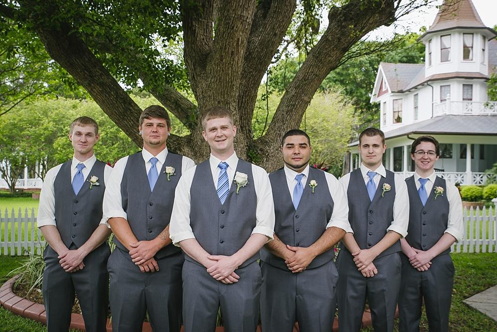 groomsmen palmetto riverside B&B wedding photos