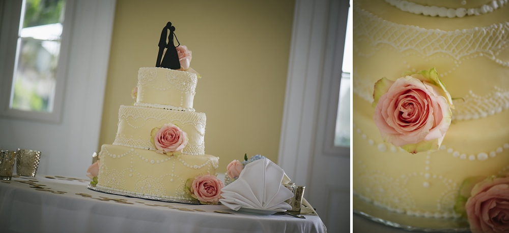 wedding cake palmetto riverside B&B wedding photos
