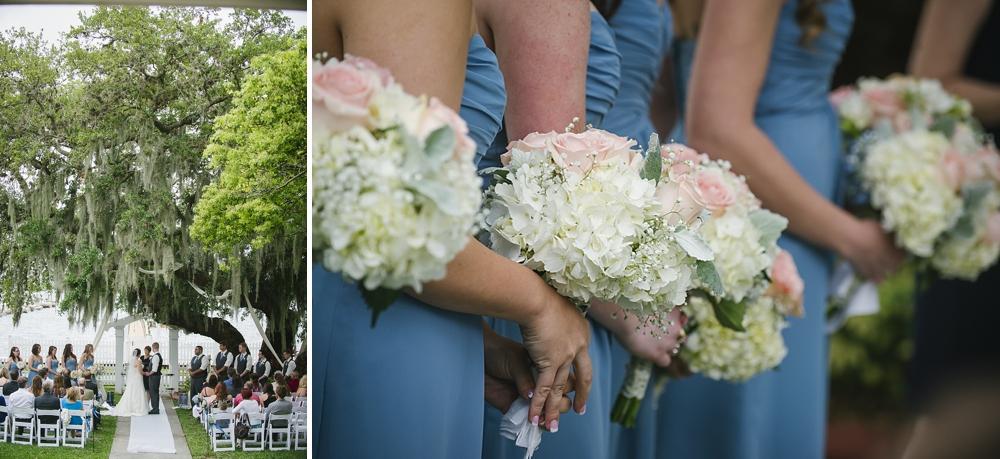 ceremony palmetto riverside B&B wedding photos