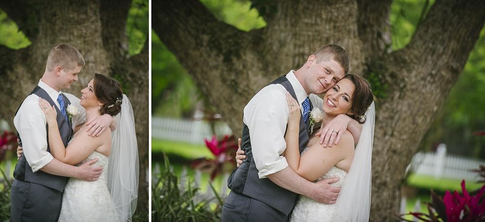 romantic palmetto riverside B&B wedding photos