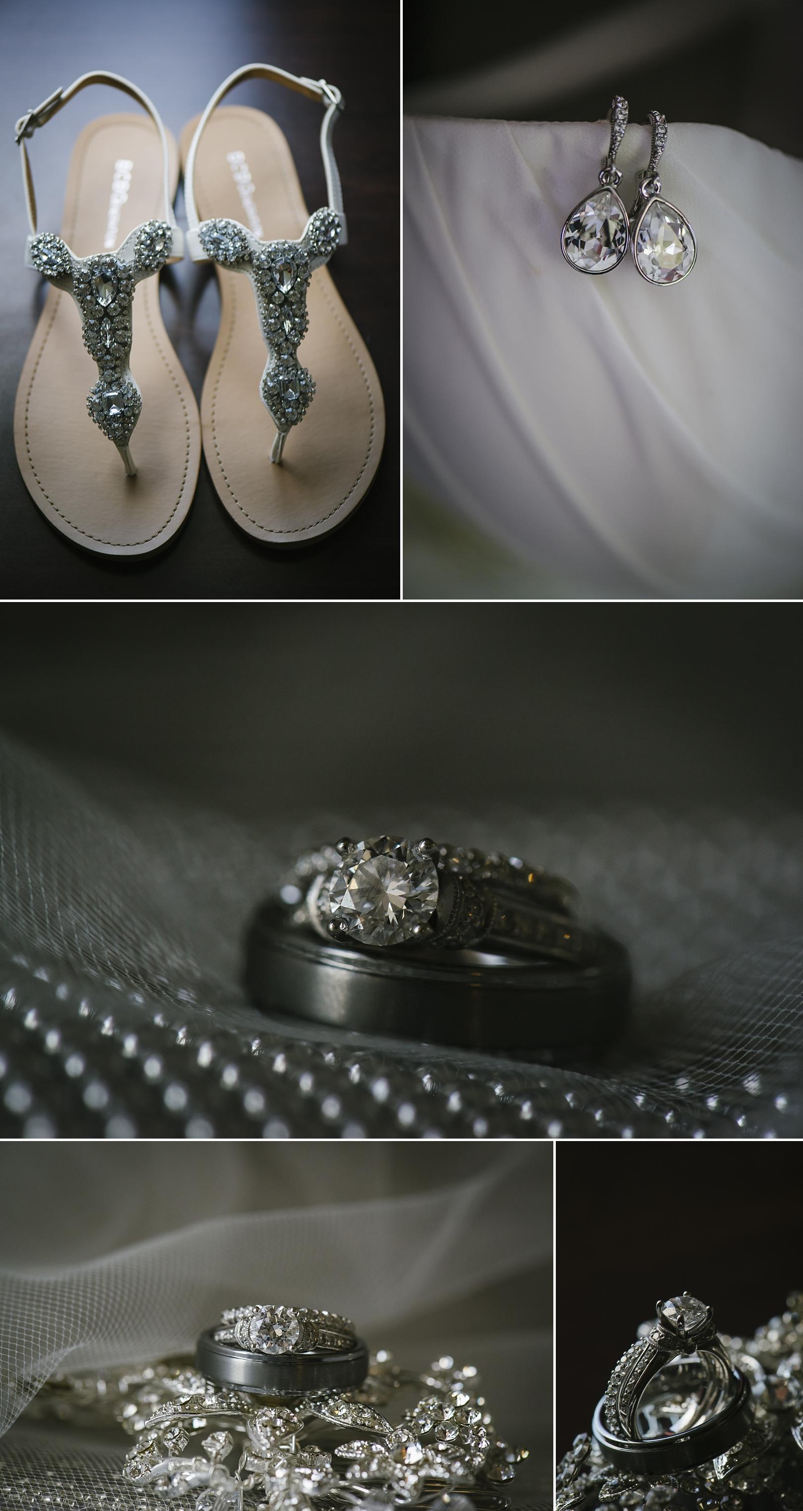 wedding ring details at the sirata
