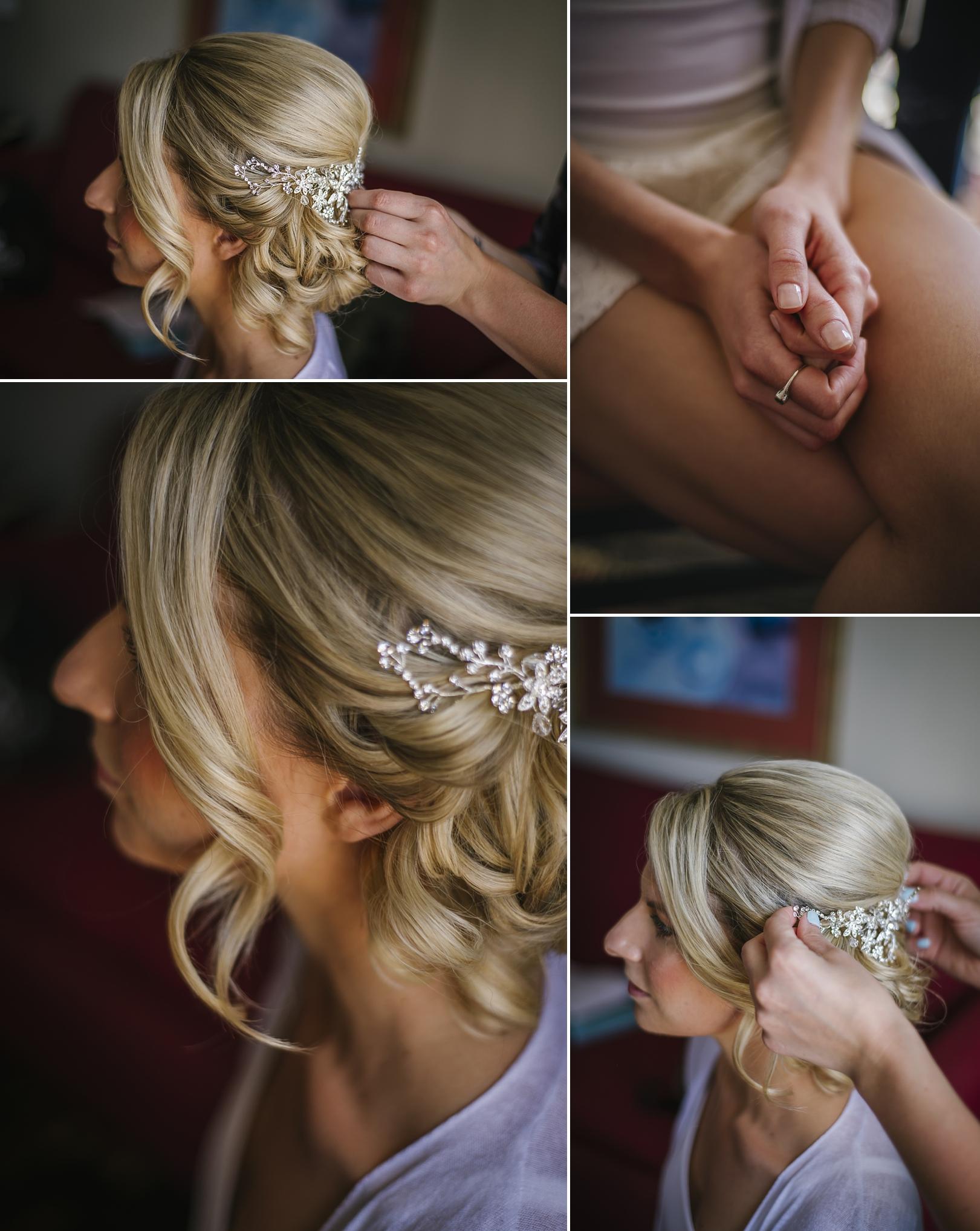 bridal hair at the sirata