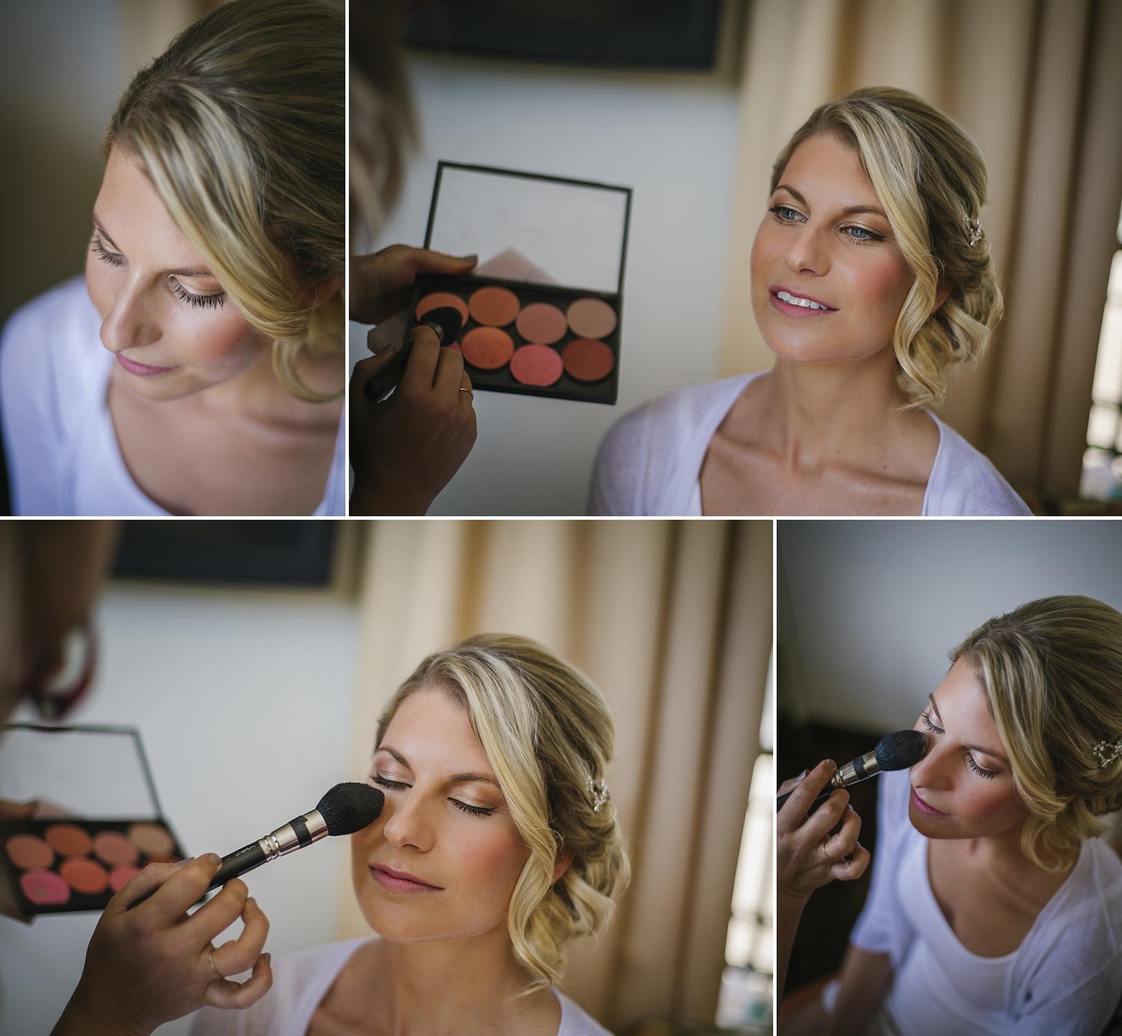 bridal make up at the sirata
