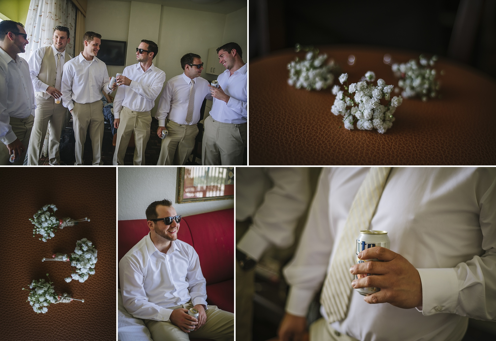groomsmen at the sirata