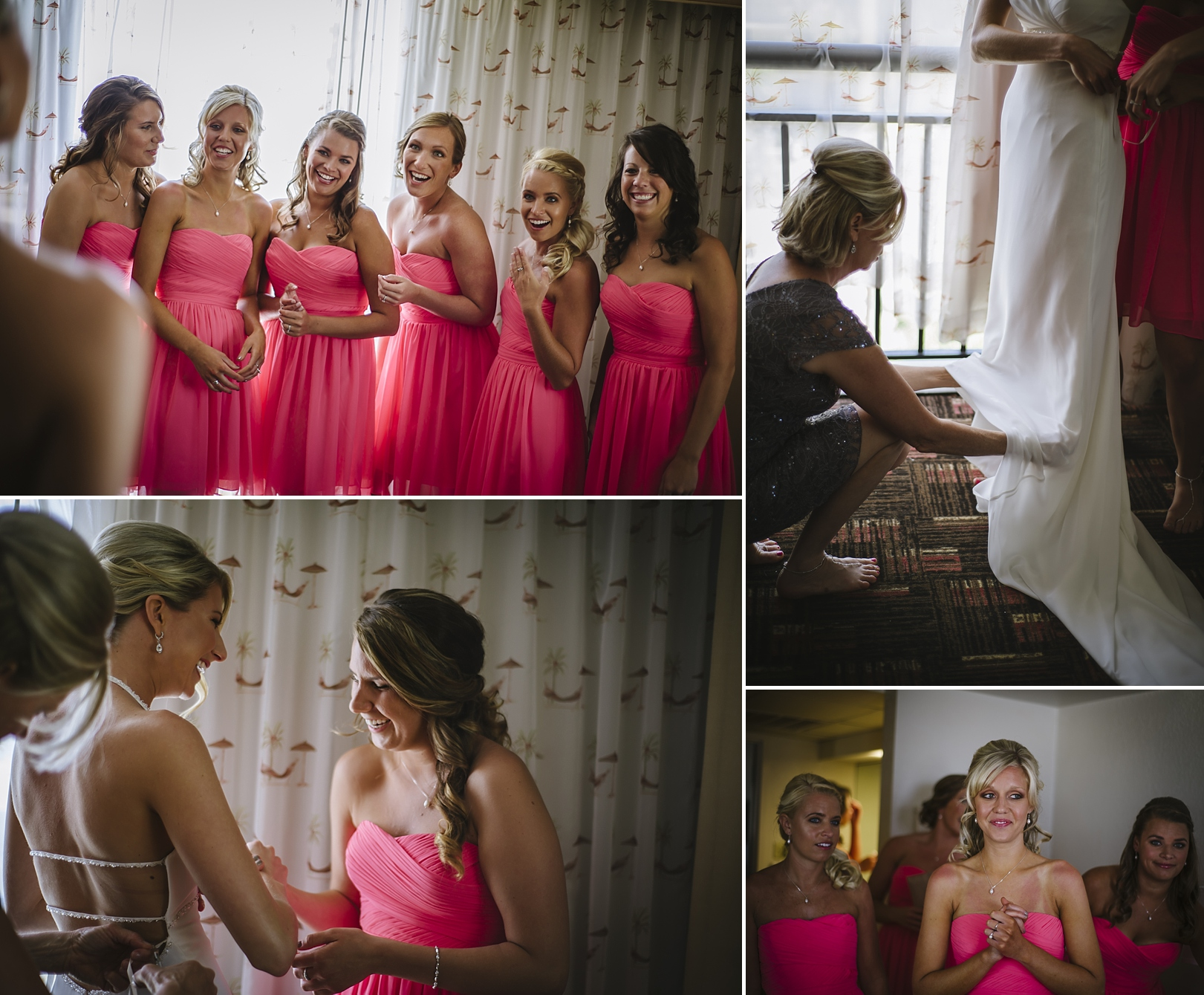 bride getting ready at the sirata