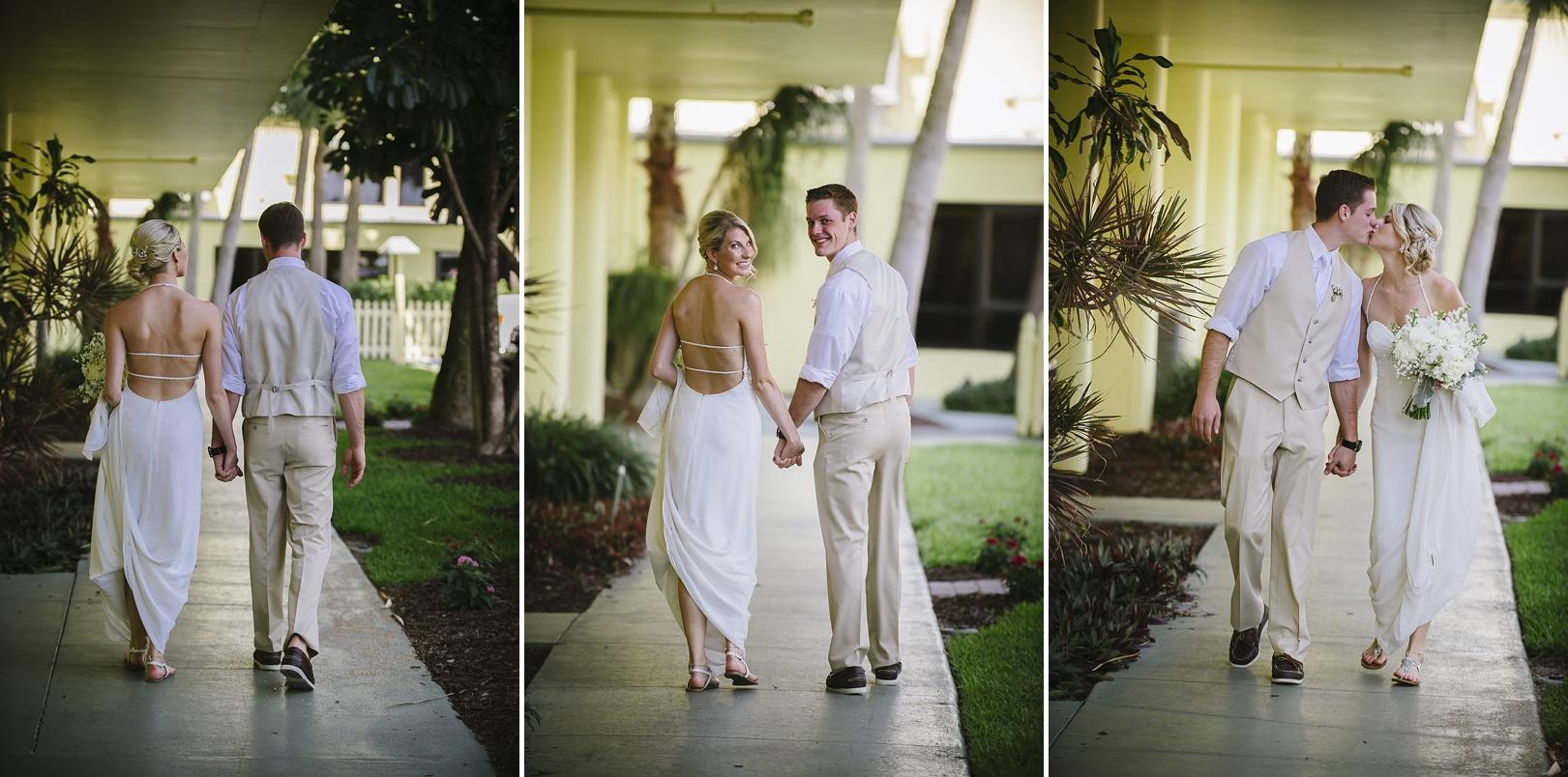 couple sirata beach wedding photos