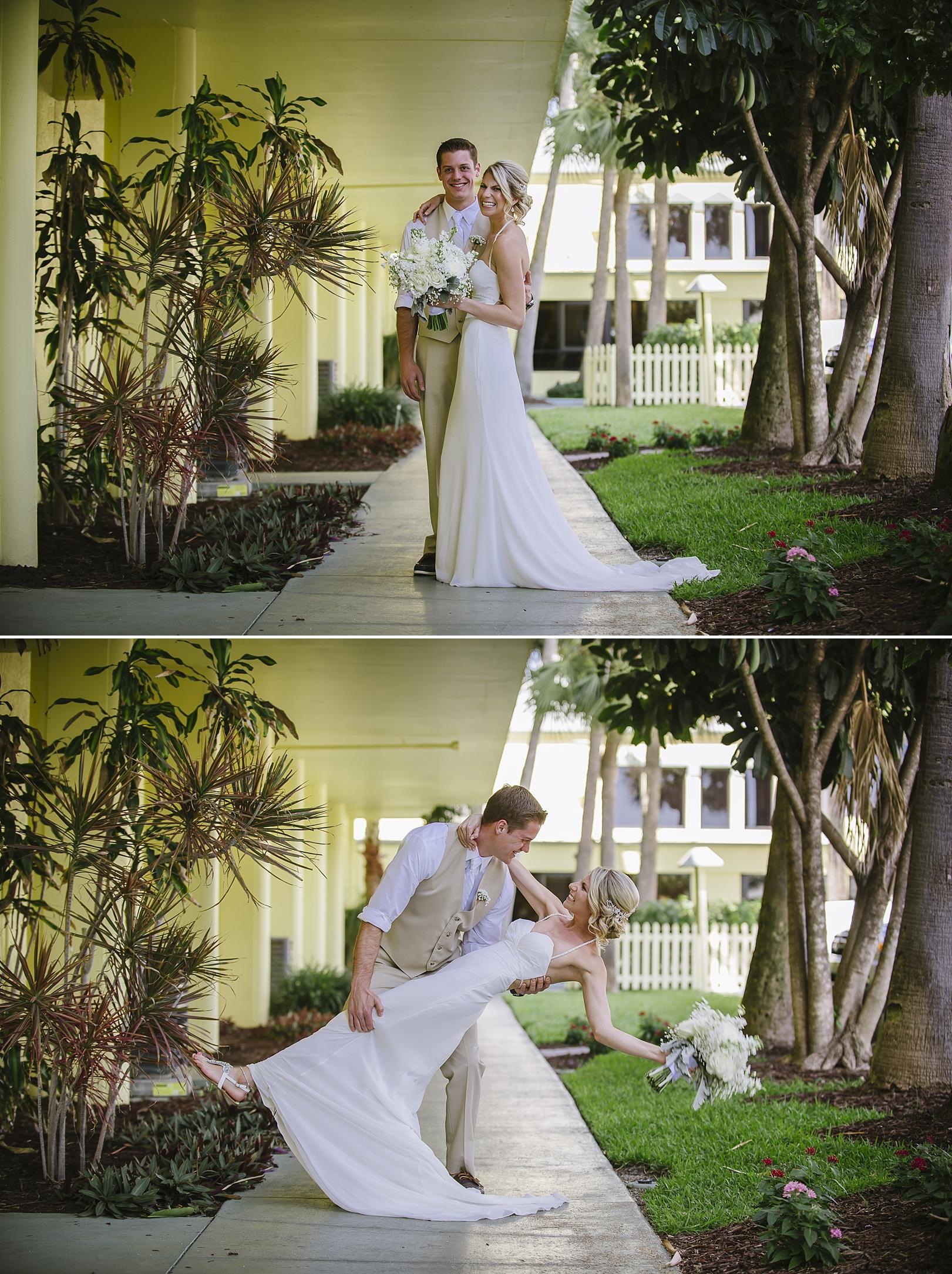 sirata beach wedding photos