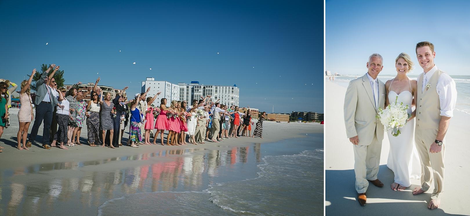 sirata beach wedding photos reverend rick st pete beach