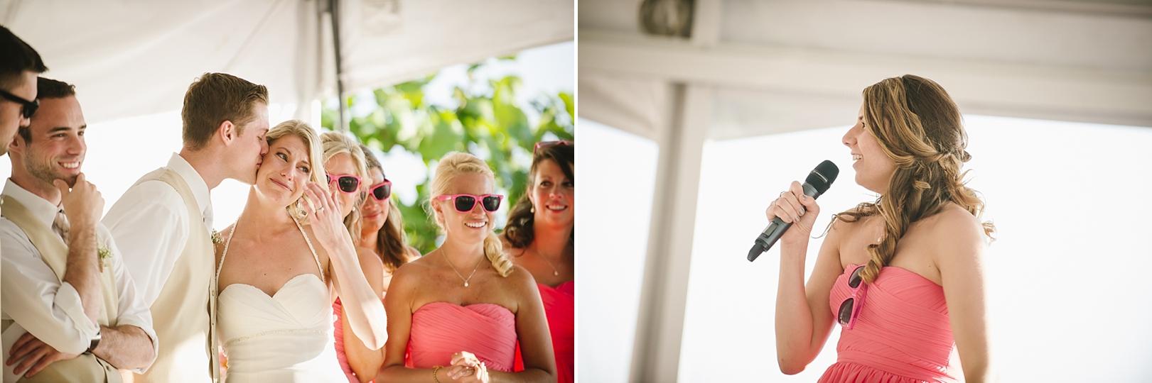 toasts sirata beach wedding photos