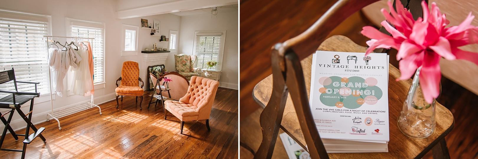 seminole heights wedding studio photos