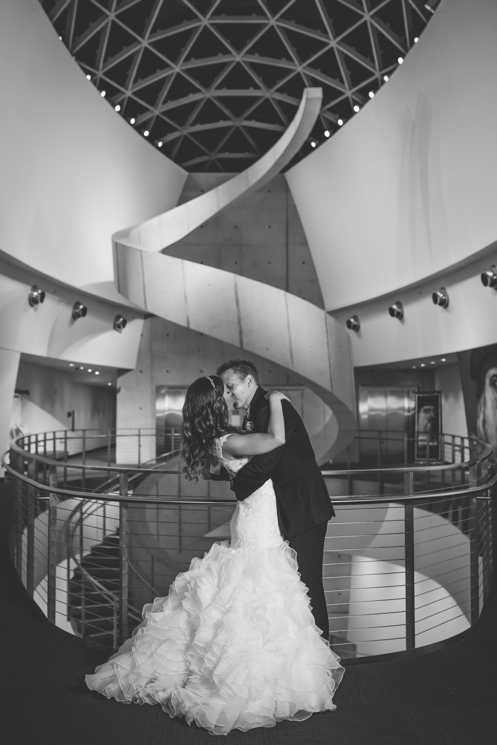 YESS! Brad and Jill are awesome! Their intimate wedding at the Dali was so much fun! And since then Brad and I have become great friends and business partners. Together we have launched  Capture the Yes!  Proposal Photography!