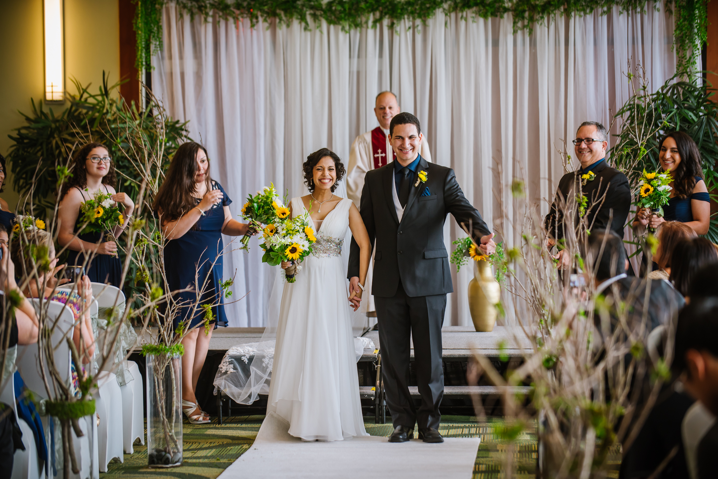 Shaime and Bryan met at USF and got married at USF! They were so excited and true to themselves with their sophisticated Lord of the Rings theme!