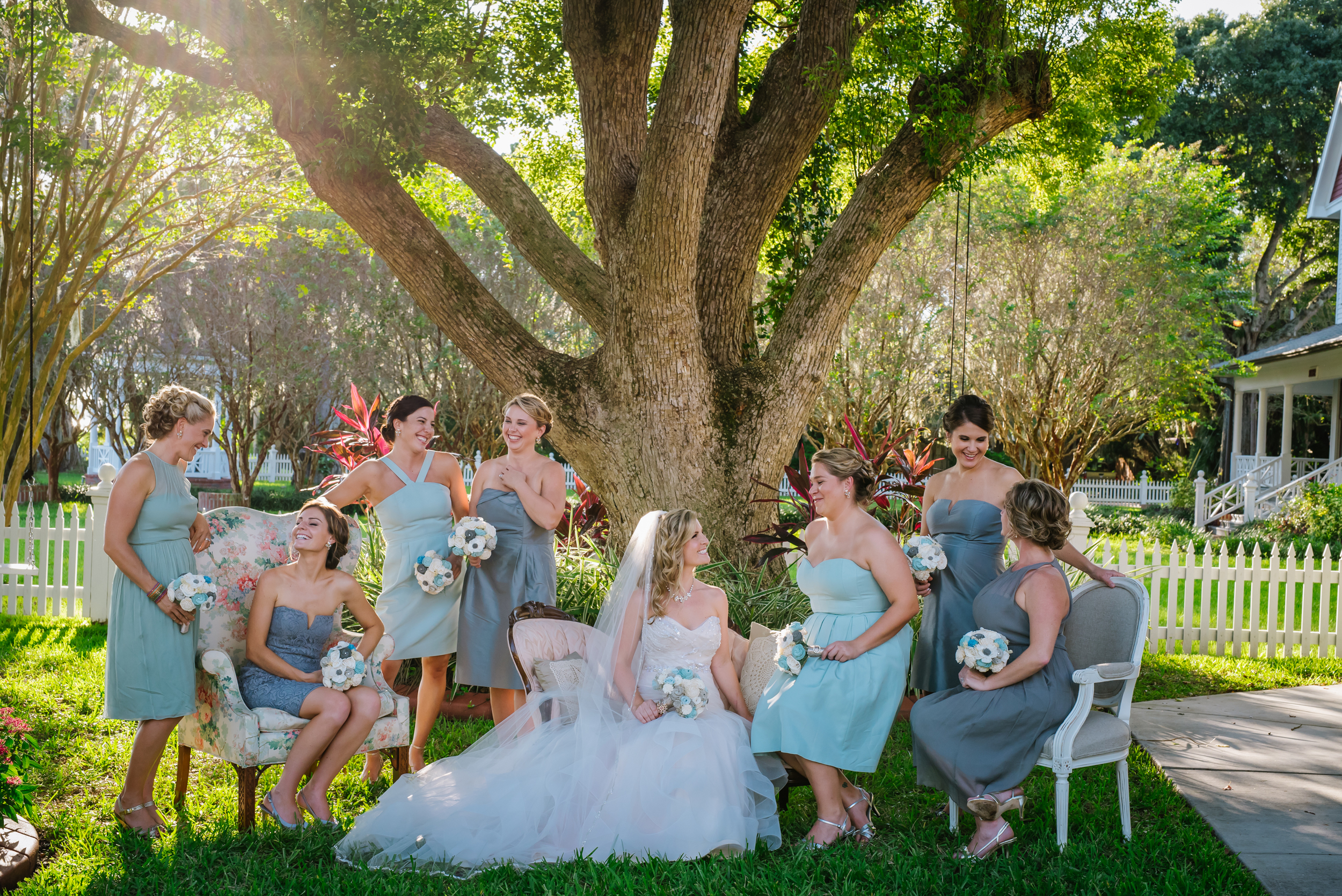 Megan and Derek had a perfectly blush and vintage wedding day surrounded by an awesome crew! I loved having fun with the girls and all of the prettiness!!