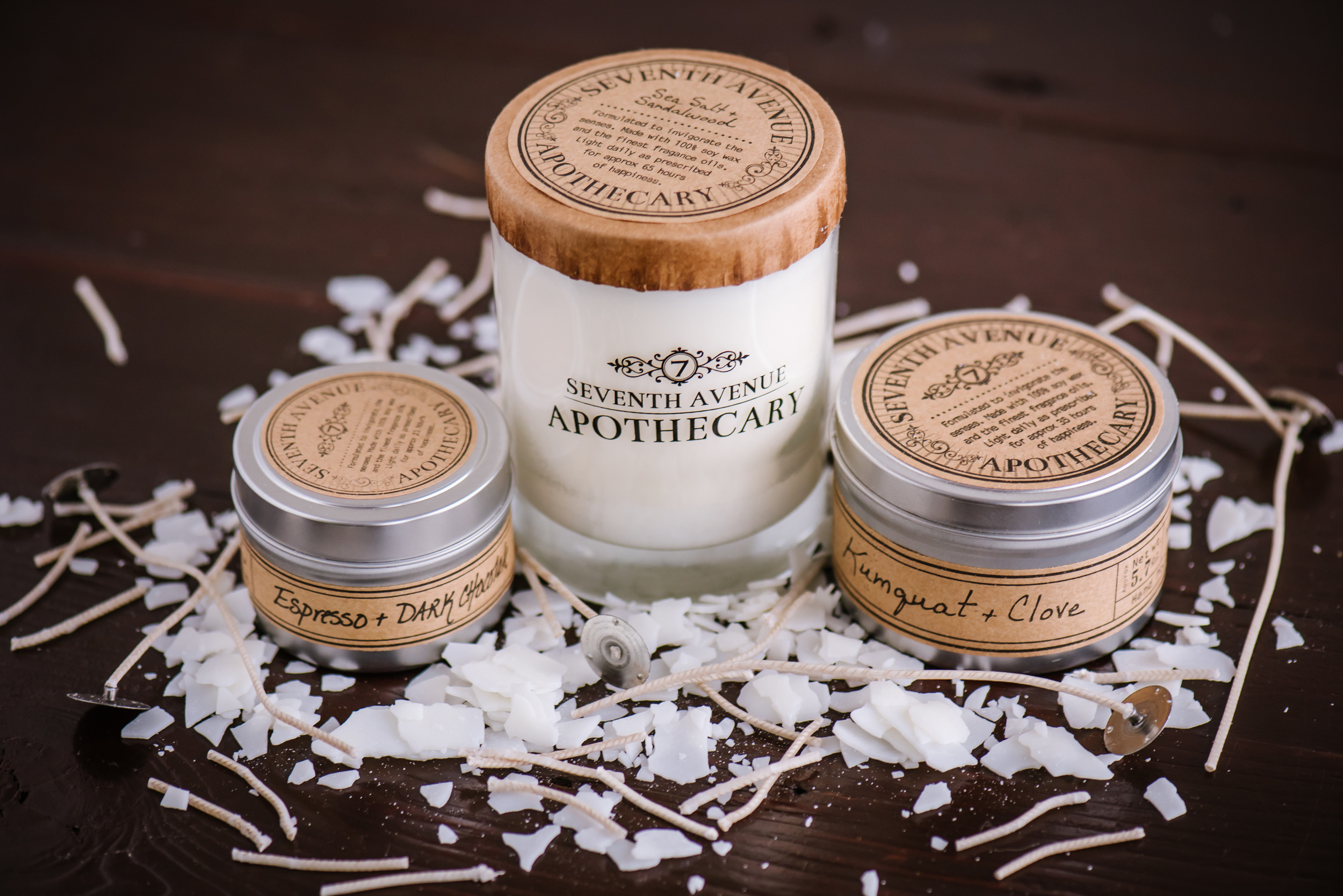 The next small business to come to the studio was Seventh Ave Apothecary! They needed all new images of their products for their site plus a few lifestyle portraits of the lovely ladies behind it all. Becky's new warehouse is now neighbors with them in Ybor!