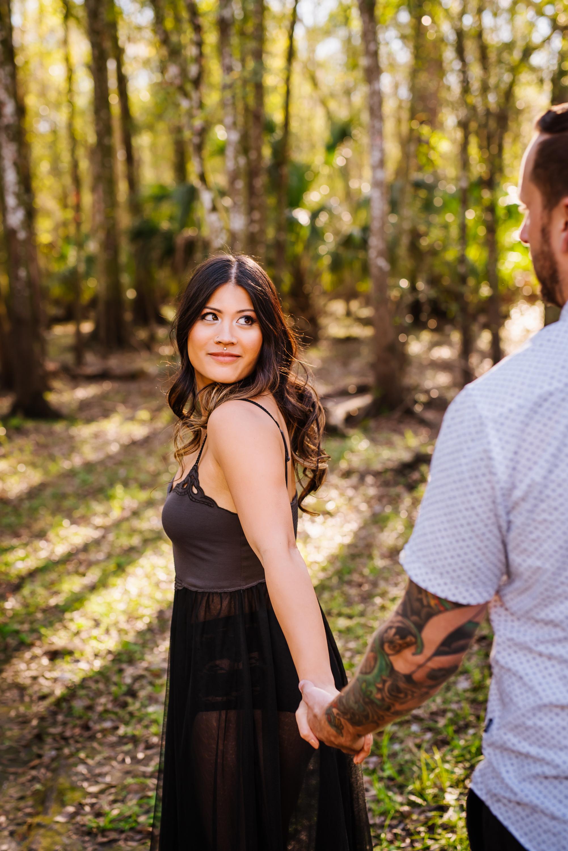 tampa-engagement-photographer-fun-vibrant-morris-bridge-outdoor-romantic-tattoos-tattooed-couple-body-mods-piercings