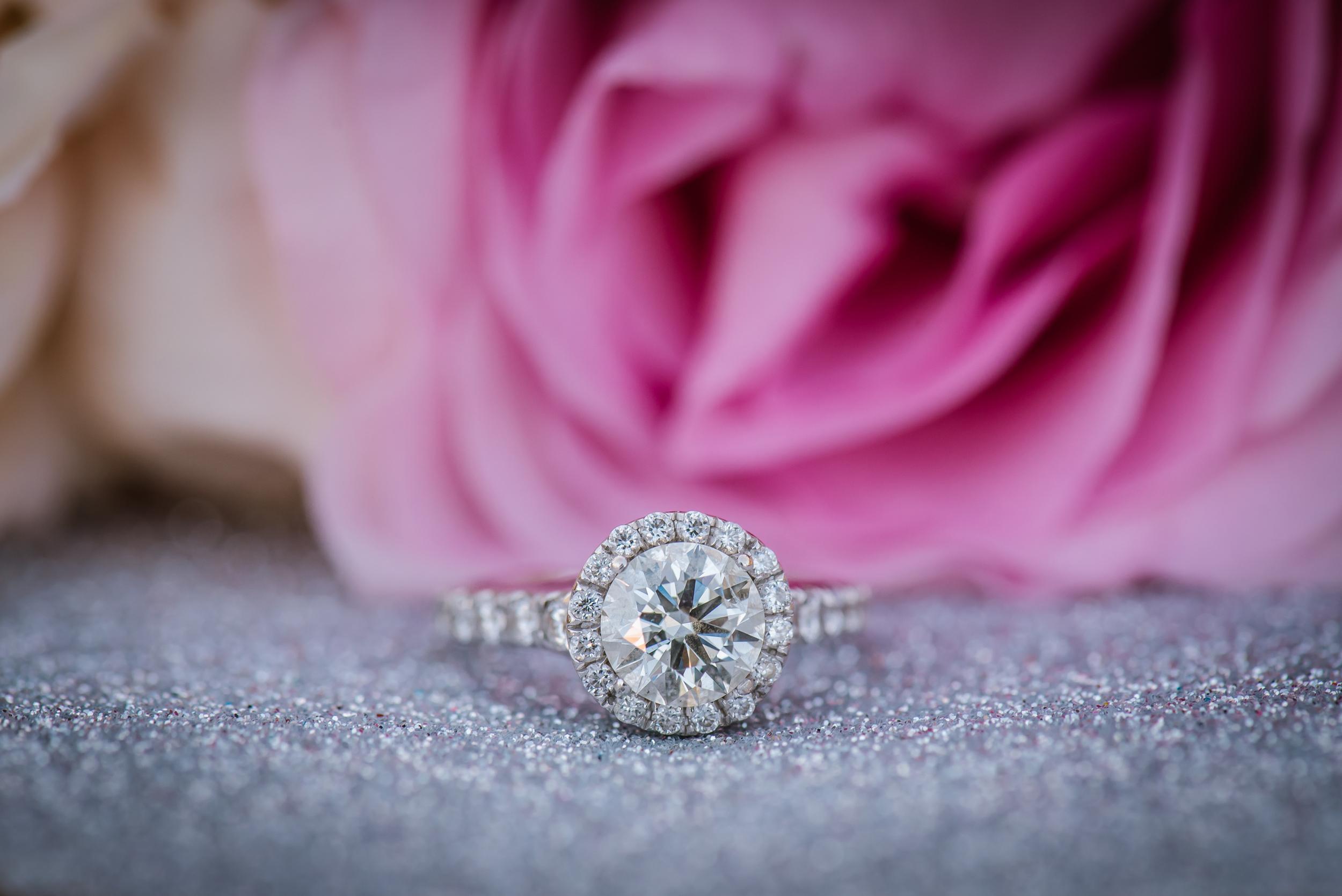 tampa-engagement-photographer-pink-diamond-closeup-macro-ring-shot