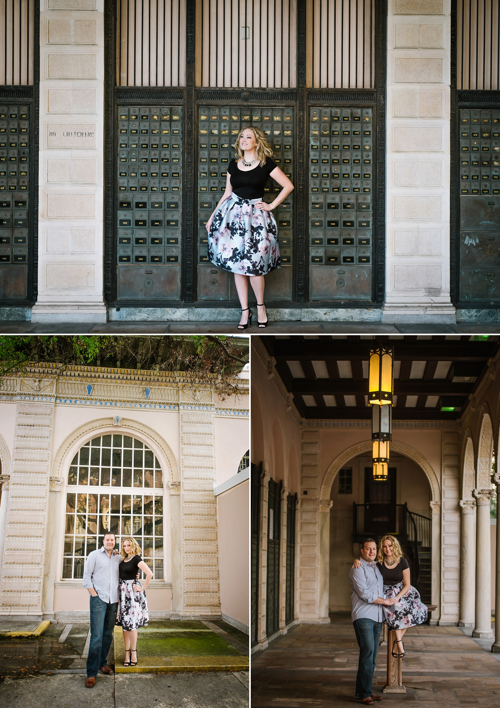 Urban Historic Engagement Photography