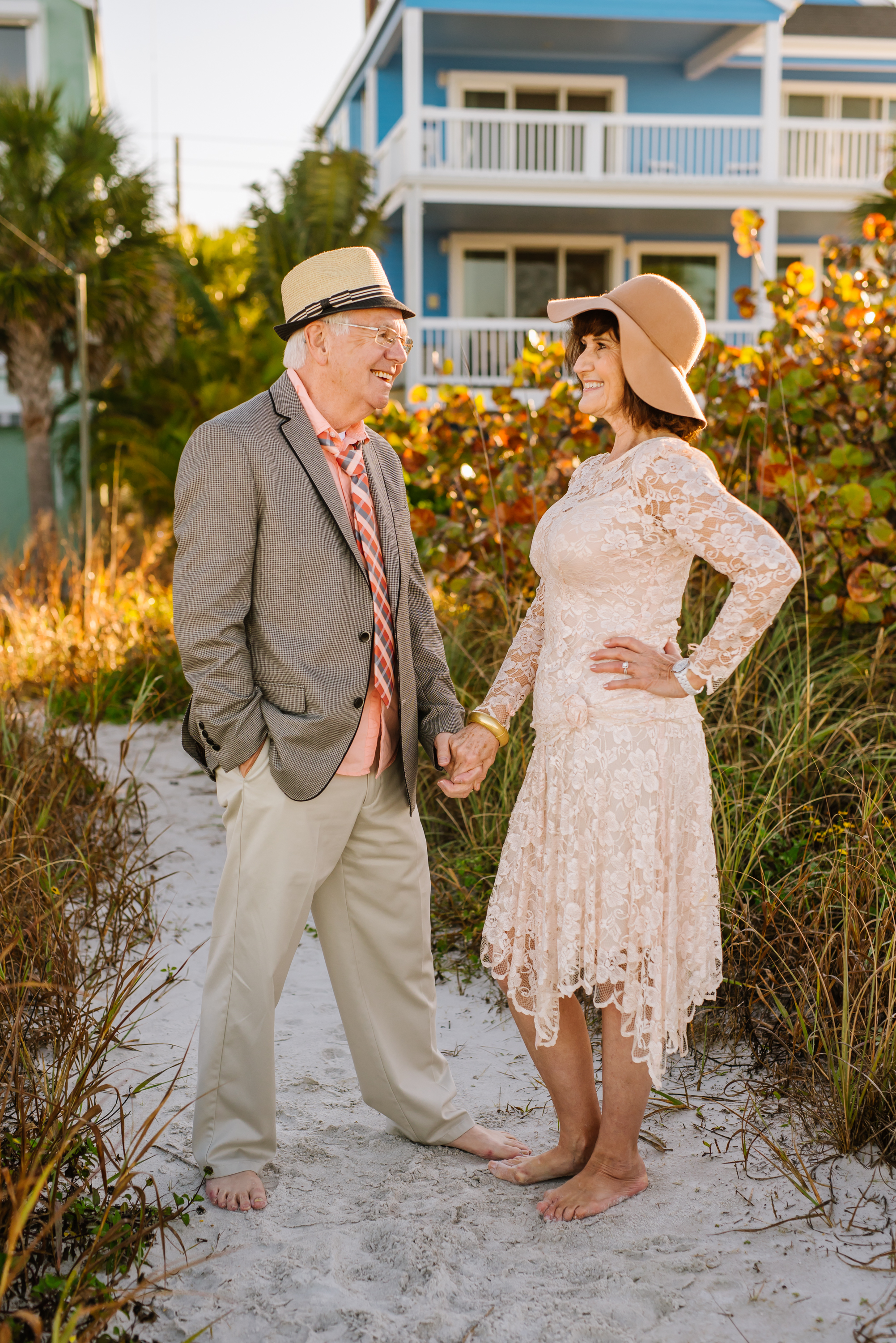 tampa-engagement-photographer-beach-sunrise-senior-couple-old-elderly-happy-candid-young-vintage-classy-florida