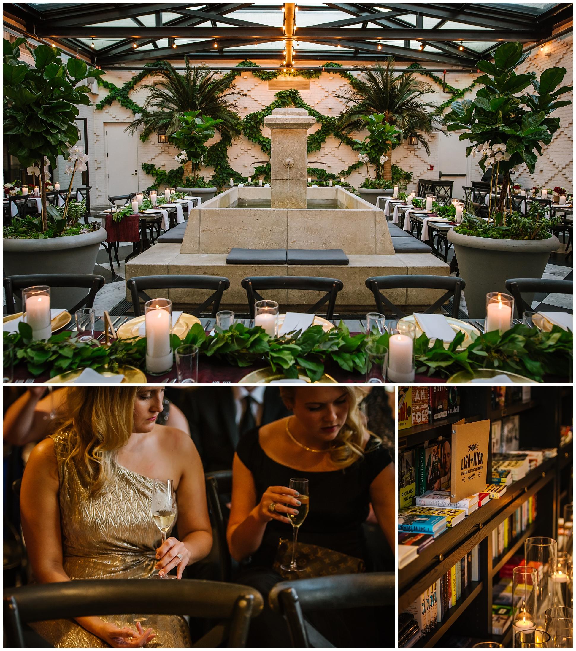 Oxford-exchange-wedding-photogapher-garland-candels-bookstore-burgandy-botanica_0044.jpg
