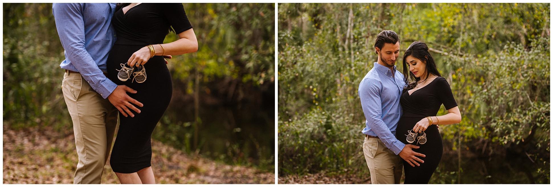 Tampa-maternity-photographer-morris-bridge-park-hip-tight-black-dress-woods_0003.jpg