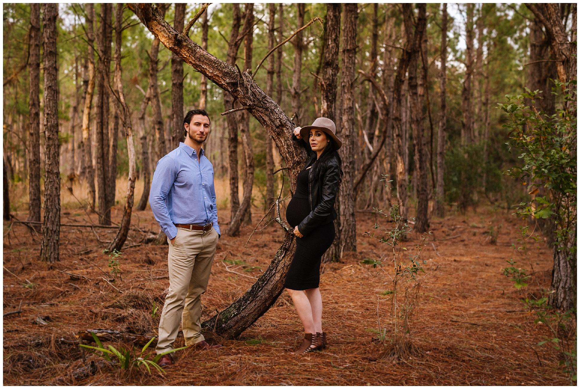 Tampa-maternity-photographer-morris-bridge-park-hip-tight-black-dress-woods_0011.jpg