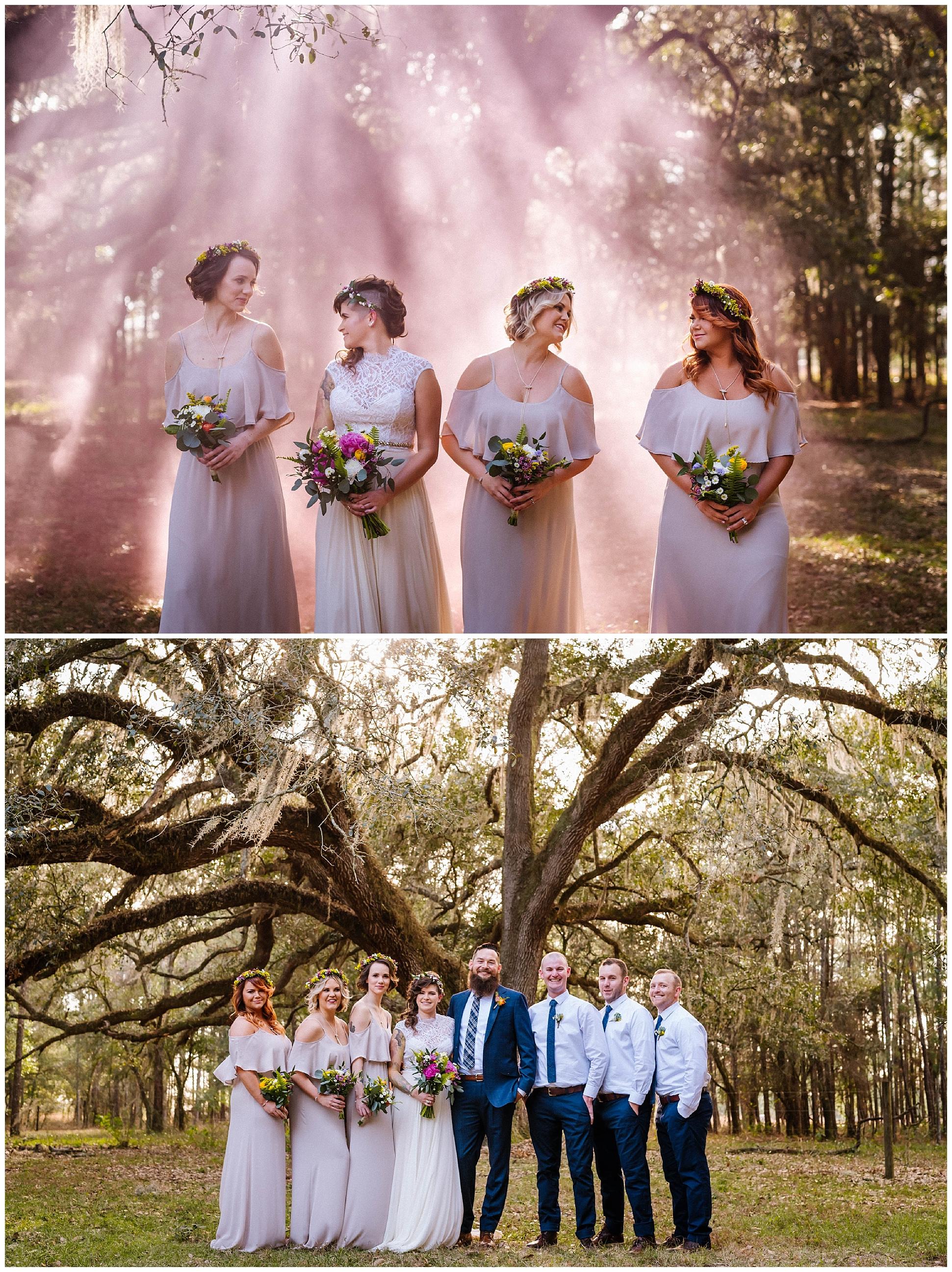 magical-outdoor-florida-wedding-smoke-bombs-flowers-crown-beard_0024.jpg