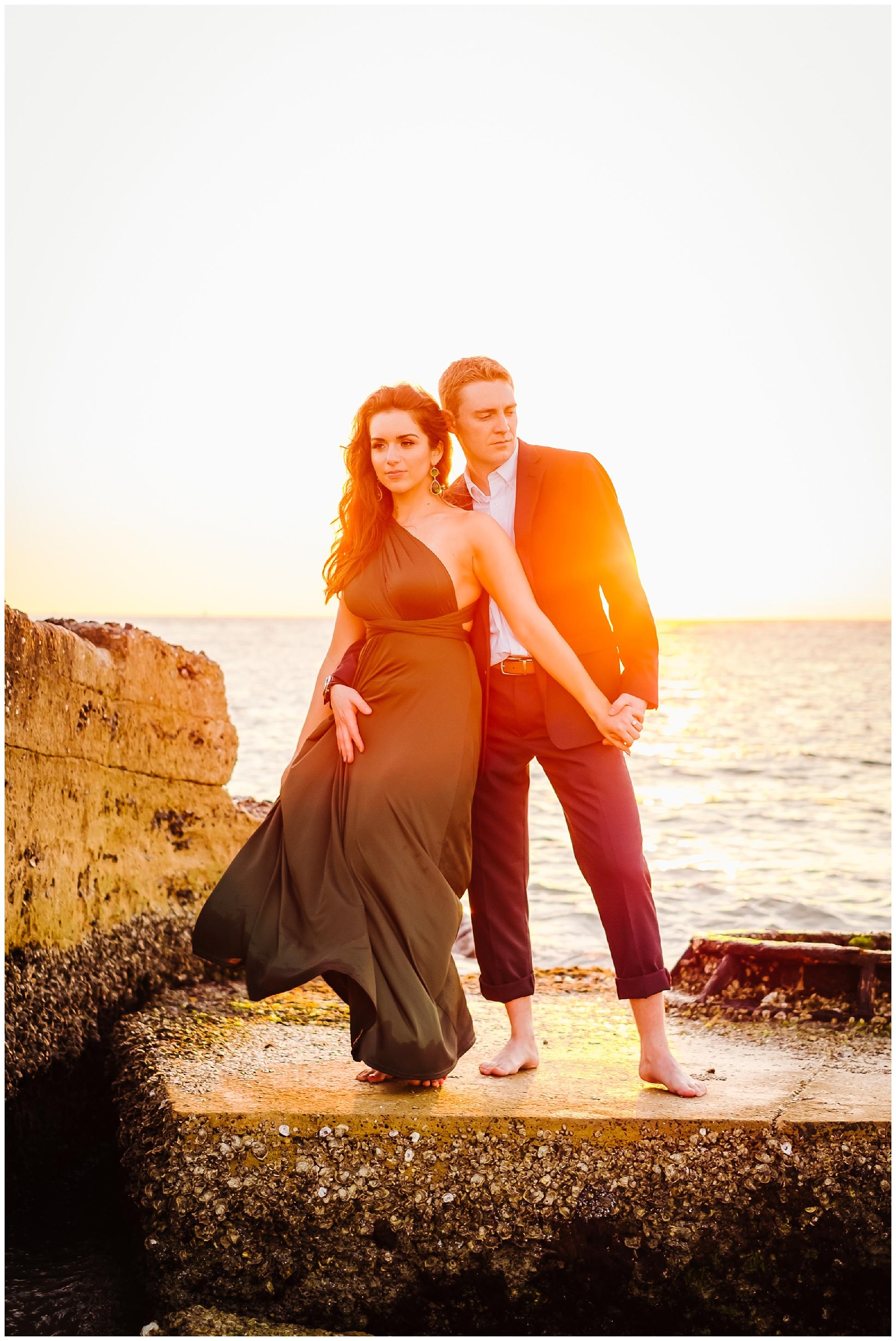 tampa-fort de soto-beach-green dress-water-love-engagement_0050.jpg