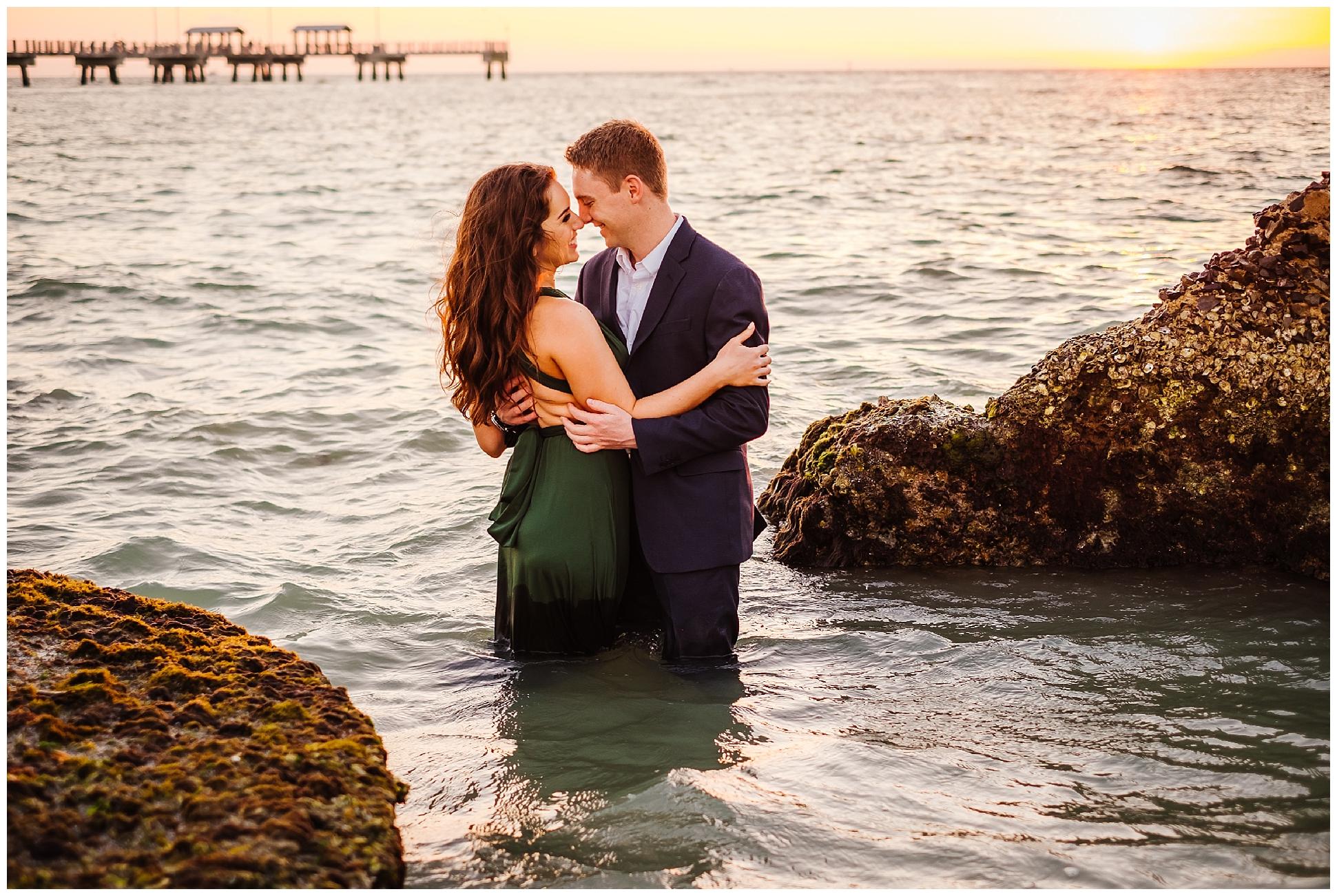 tampa-fort de soto-beach-green dress-water-love-engagement_0056.jpg