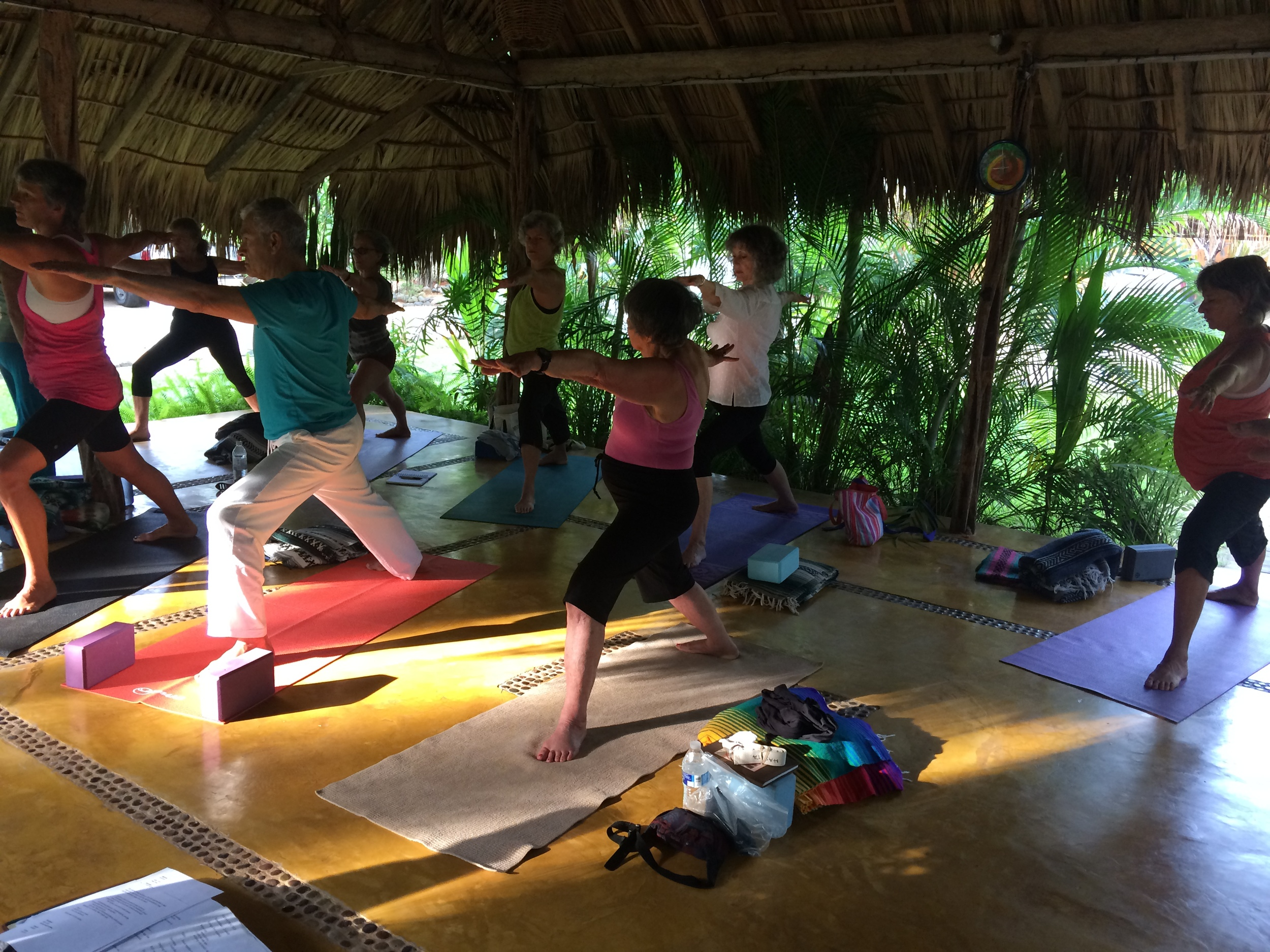 Yogis in Mexico - January '15