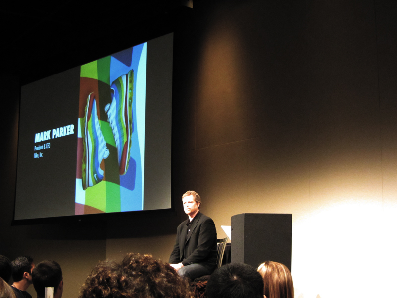 Mark Parker, CEO of Nike Inc.