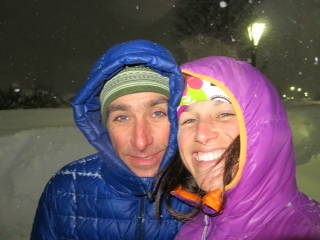 Lindsay and Sean (St. Anton, Austria)
