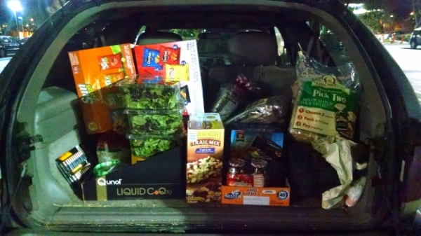 & buying supplies...