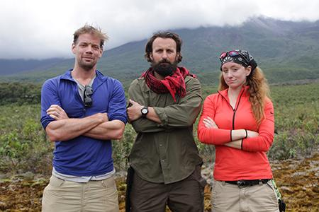 Trailblazers Ecuador, L to R: Jeff, Shaun, & Jess.
