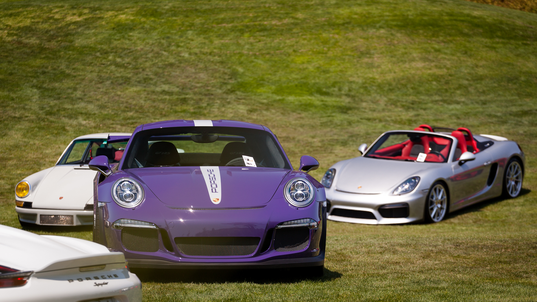 Porsche 991 GT3Rs front and center