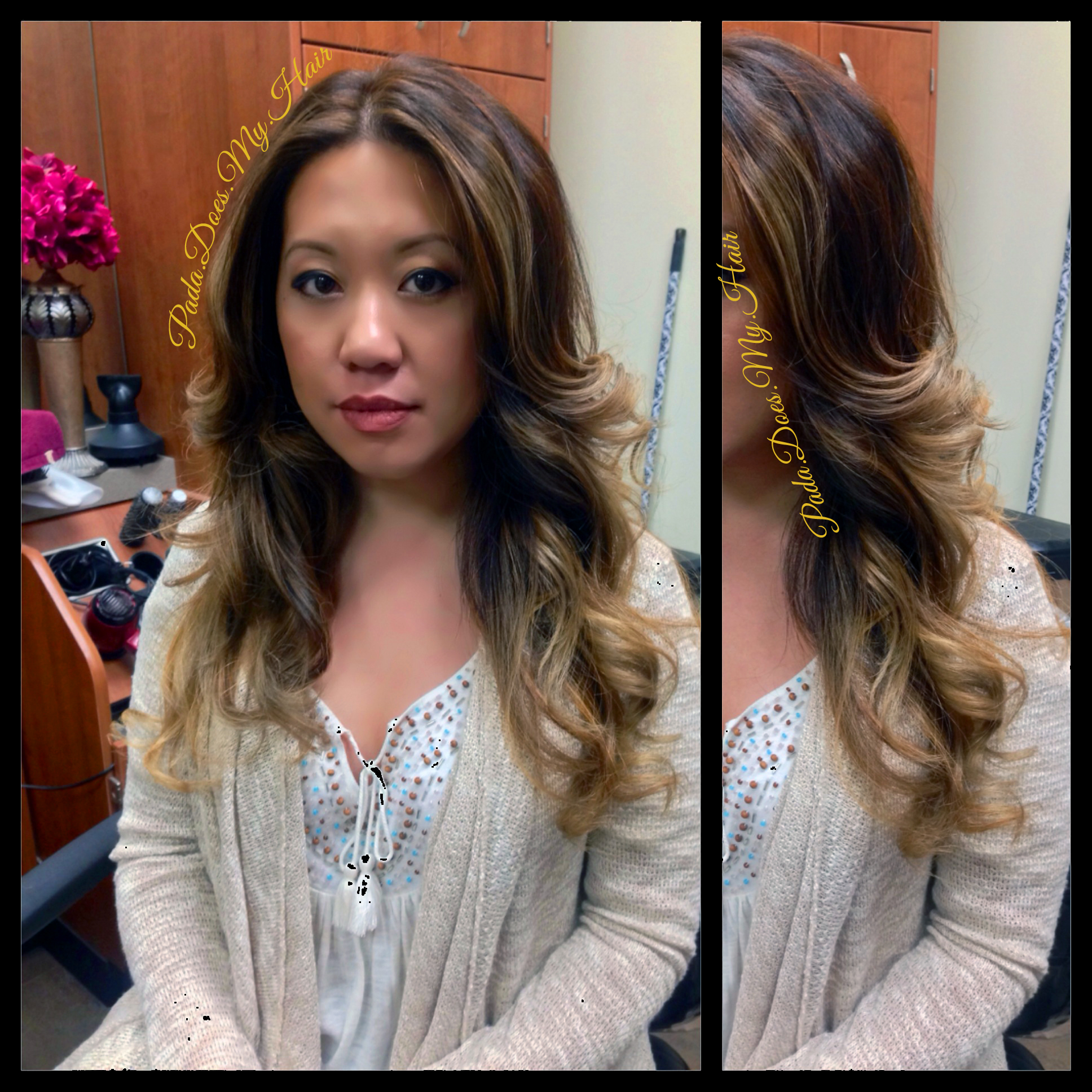 I #GuyTang her hair