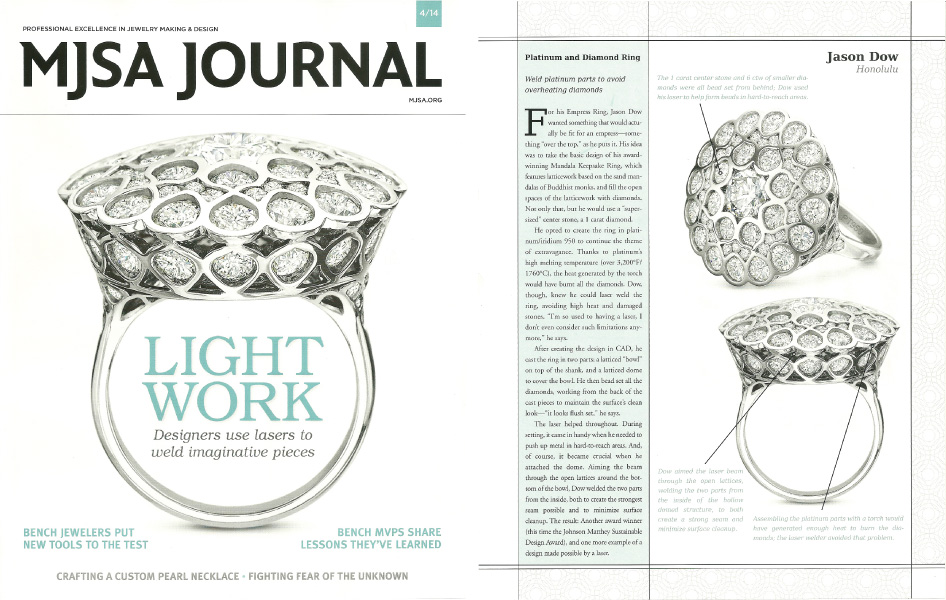 MJSA Journal - March 2014