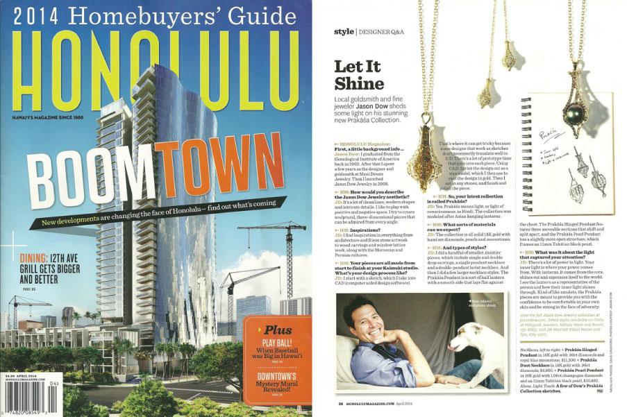 Honolulu Magazine - April 2014