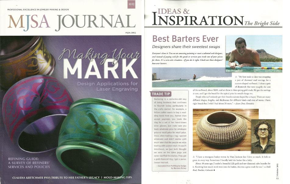 MJSA Journal - October 2012