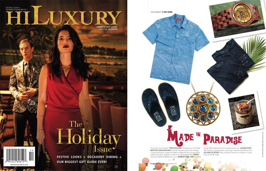Hawaii Luxury Magazine -  Dec 2016