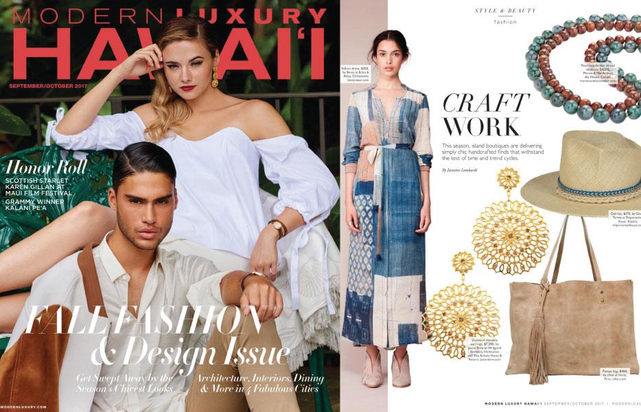 Hawaii Modern Luxury Magazine - Fall 2017