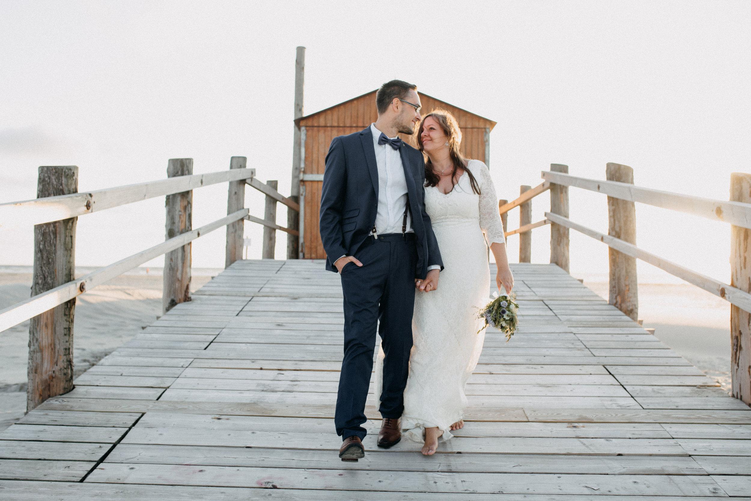 Heiraten - Sankt Peter Ording - Hochzeitsfotograf