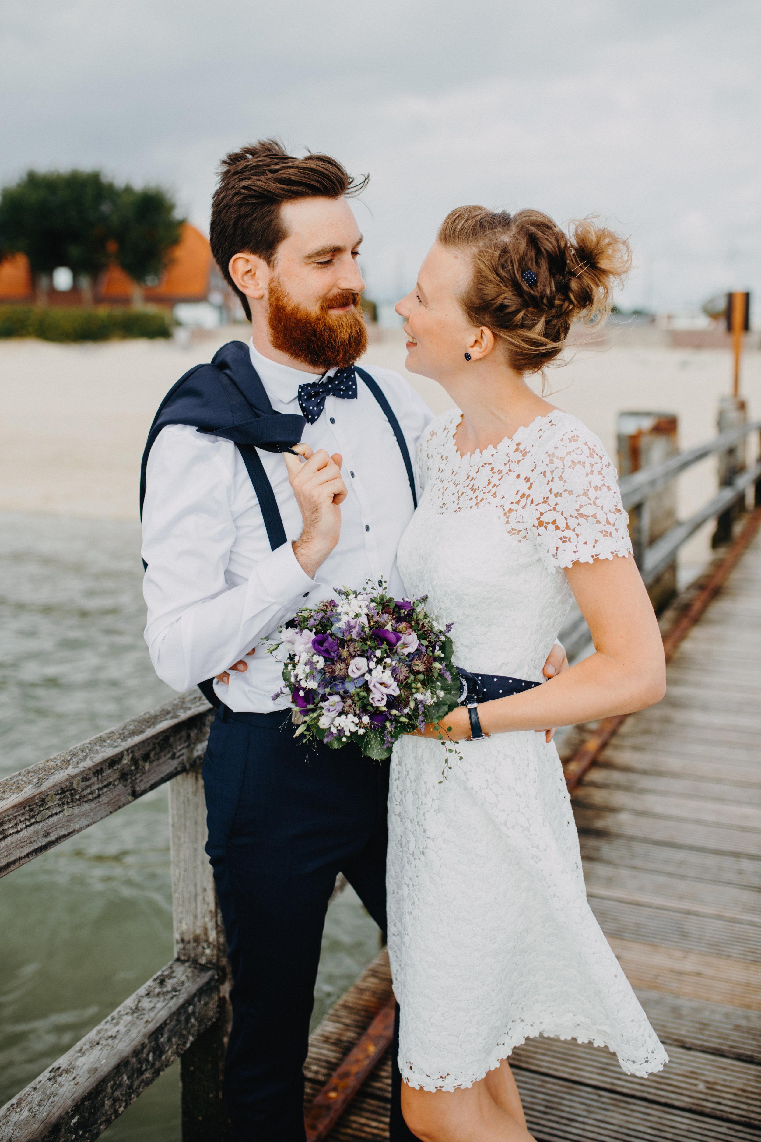 Paarbilder - Hochzeit - Amrum - Föhr - Sylt