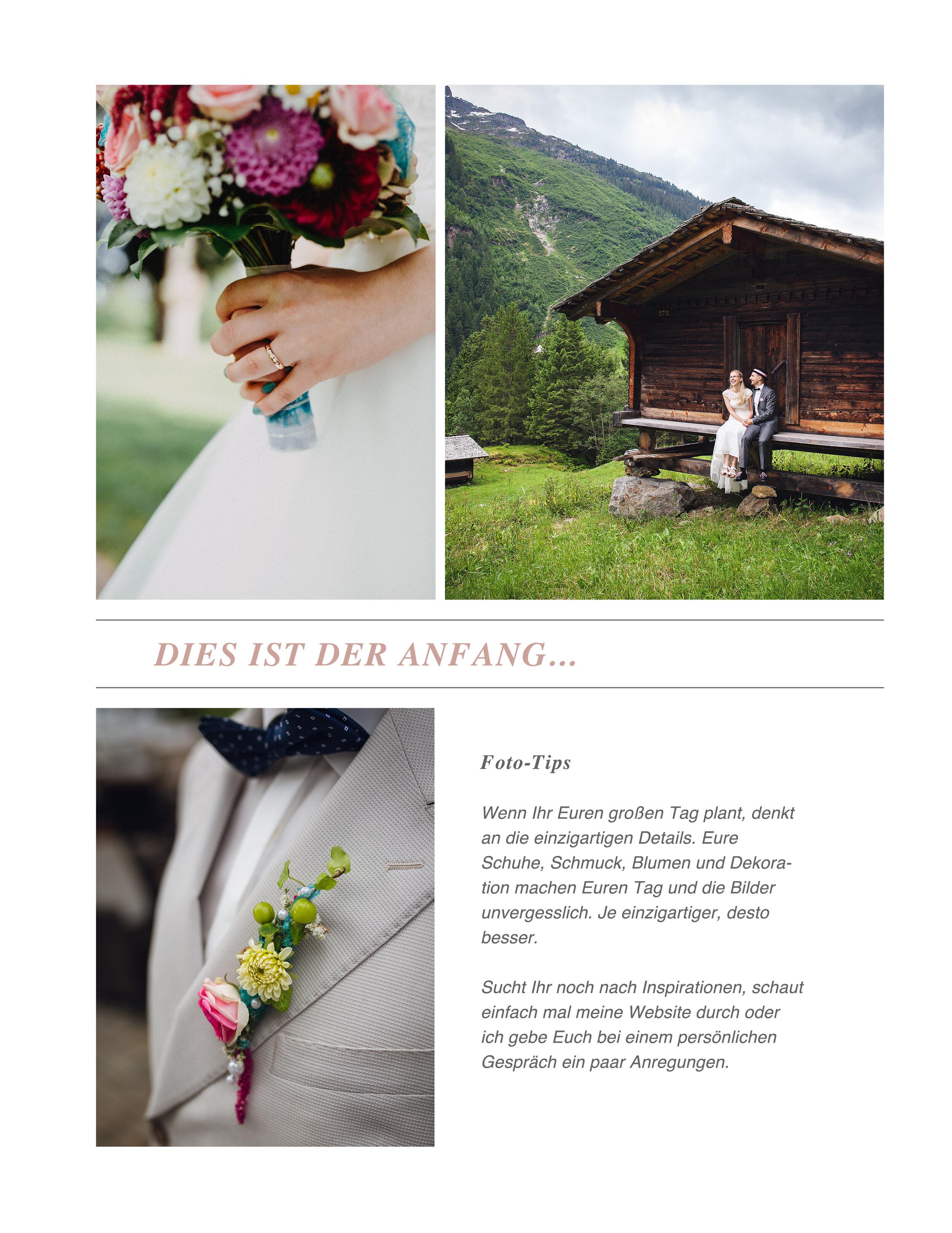 Hochzeitsreportage - Schleswig Holstein - Heide