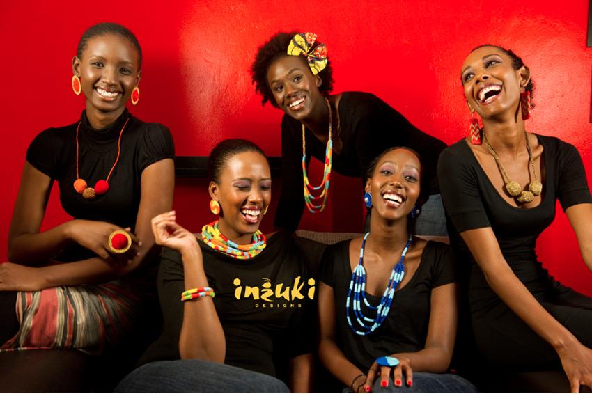 Teta Isibo , founder of  Inzuki  (Rwanda)