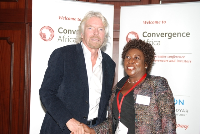 Divine Ndhlukula in conversation with Richard Branson