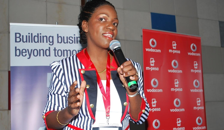 Emelda Mwamanga , founder of  Bang! magazine (Tanzania)