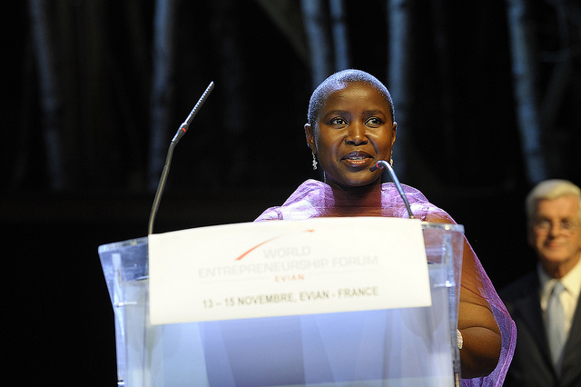 Sibongile Sambo , founder and Chief Executive Officer of  SRS Aviation Ltd.